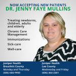 Dr. Jenny Mullins Joins Juniper Health