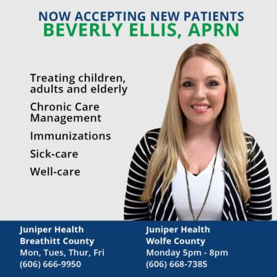 Introducing Nurse Practitioner, Beverly Ellis